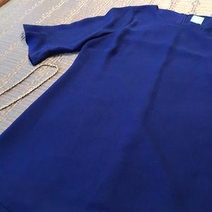CeCe dress, royal blue with ruffles, M-L